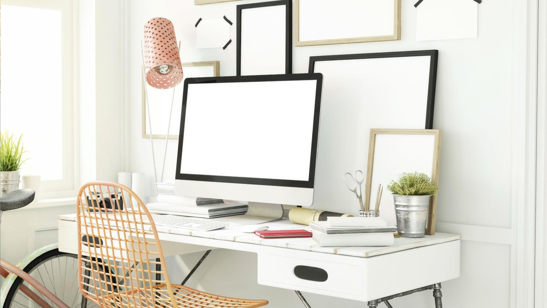 Creëer een gezellige werkkamer