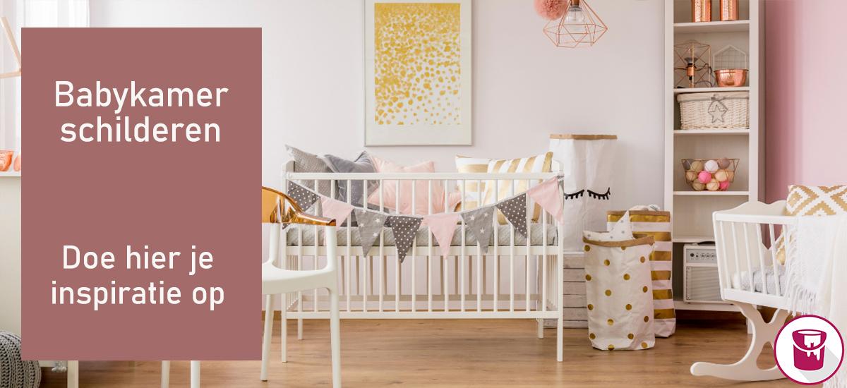 Babykamer schilderen: doe hier je inspiratie op