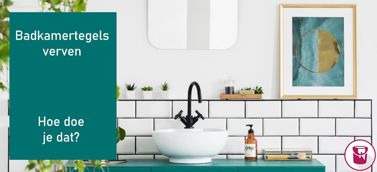 Hoe kun je het beste je badkamer tegels verven?