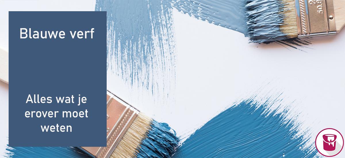 Alles wat je moet weten over blauwe verf