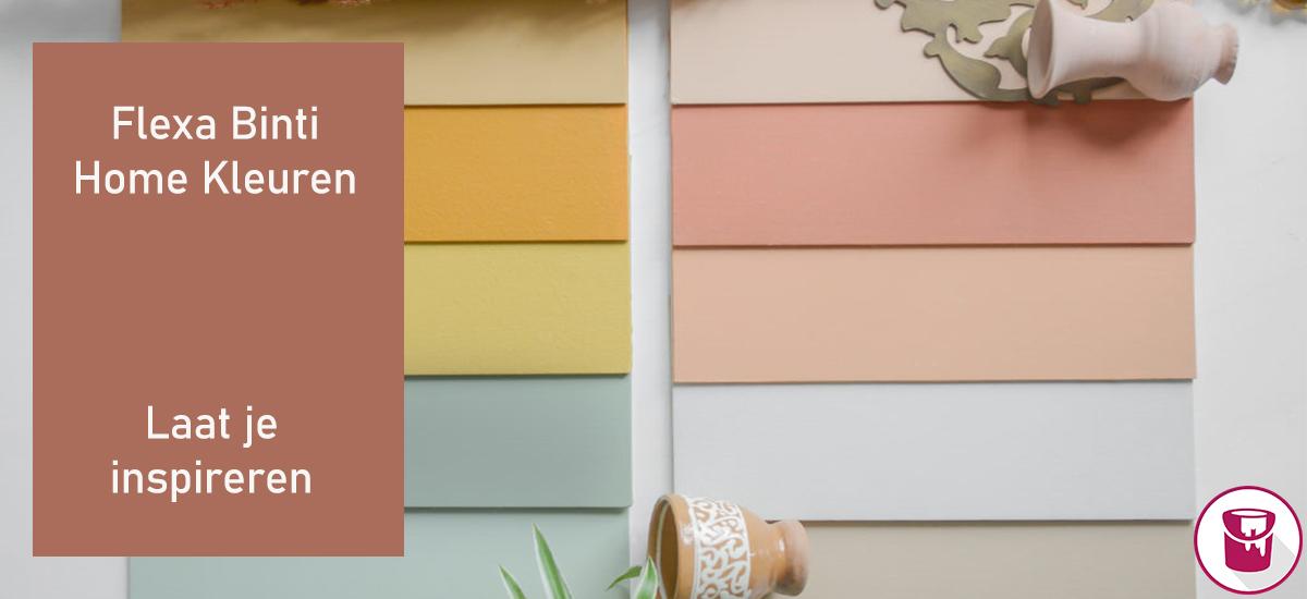 Ontdek de Flexa Binti Home kleurencollectie