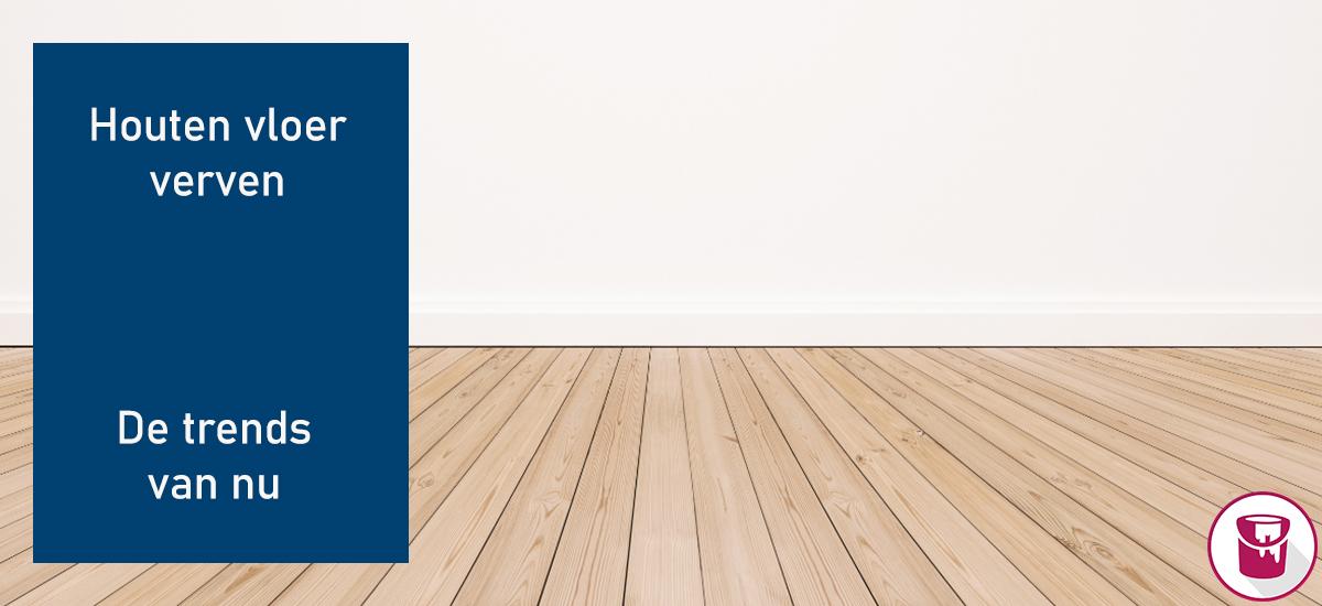 Houten vloer verven: de trends van dit moment