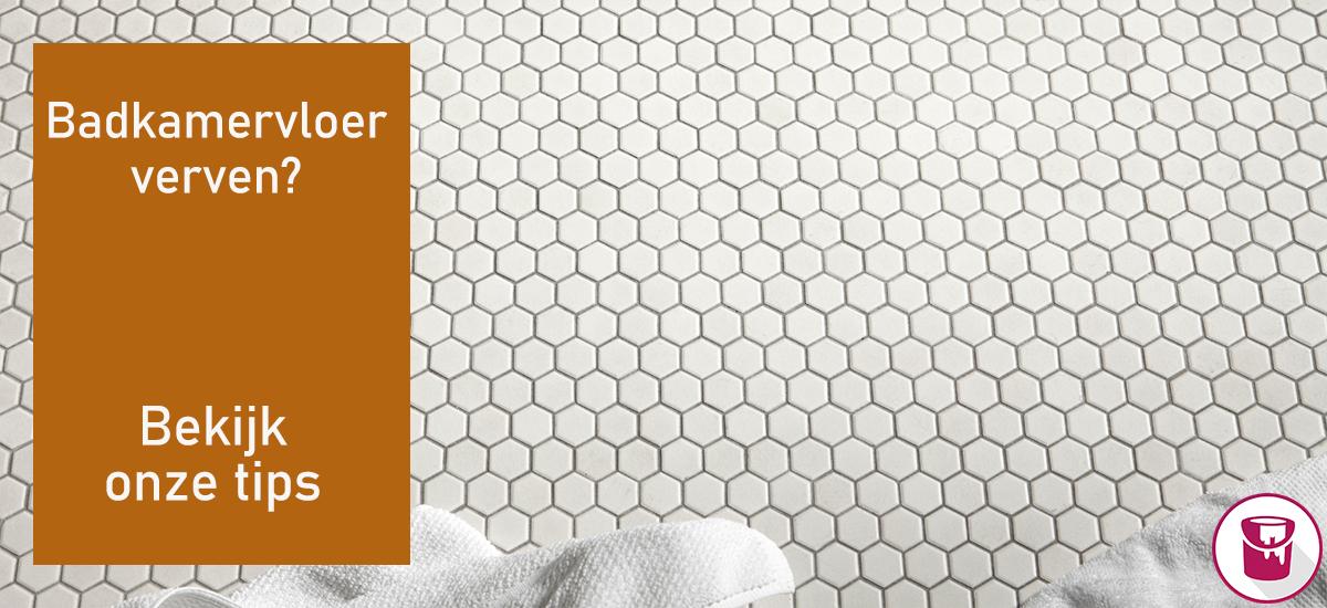 Badkamervloer verven? Bekijk onze tips