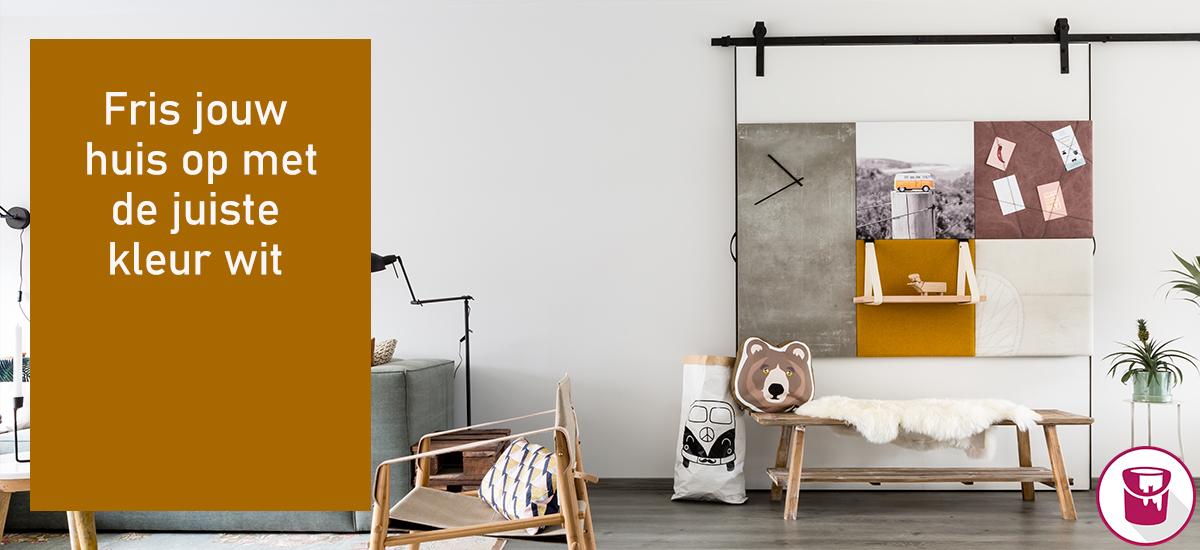 Fris jouw huis op met de juiste kleur wit!