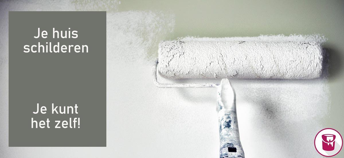 Je huis schilderen: je kunt het zelf!
