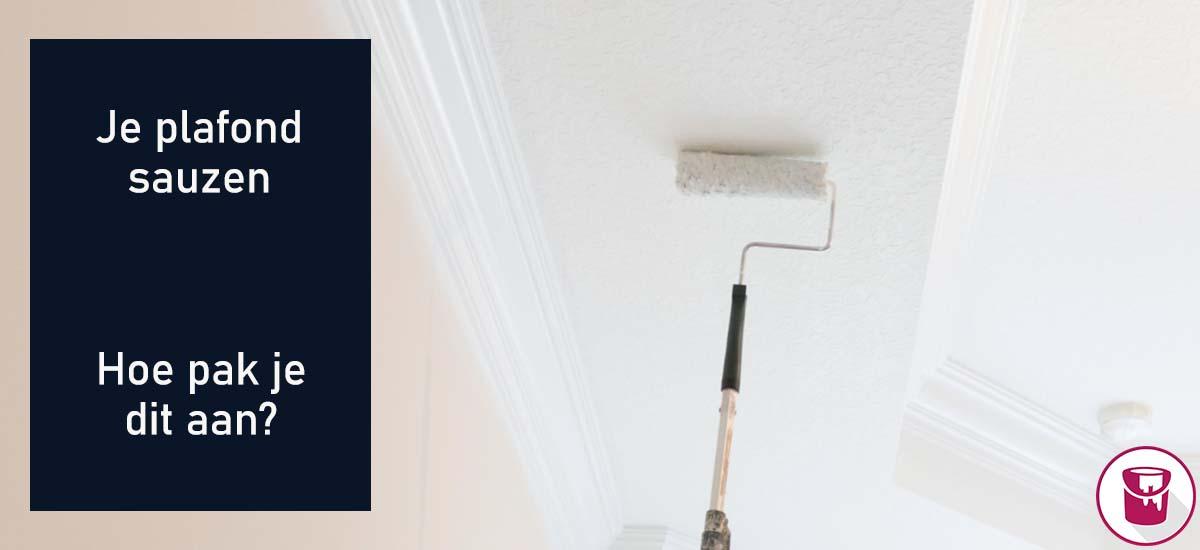 Je plafond sauzen: hoe pak je dit aan?