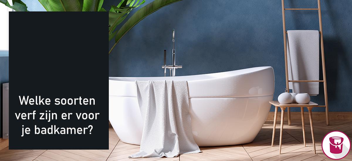 Welke soorten verf zijn er allemaal voor je badkamer?