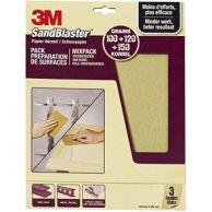 3M Sandblaster - Mixpack Paars - P100/P120/P150
