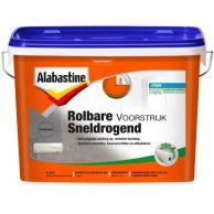 Alabastine Rolbare Voorstrijk Sneldrogend - Dekkend Wit