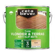 Cetabever Tuin Vlonder en Terrasbeits Anti-Slip Kleurloos - 2,5 Liter