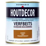 Hermadix Houtdecor Verfbeits Transparant - 750 ml