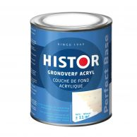 Histor Perfect Base Grondverf Acryl - Wit