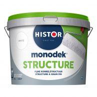 Histor Monodek Structure - Structuurverf Fijn - Lichte Kleuren