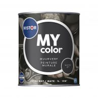 Histor MY Color Muurverf Extra Mat - Whitby Jet