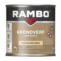 Rambo Grondverf voor Binnen - Kleurloos
