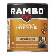 Rambo Pantserlak Interieur Transparant Mat - 750 ml