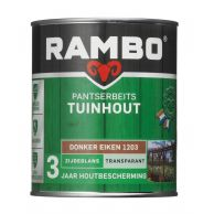 Rambo Pantserbeits Tuinhout Transparant - 750 ml