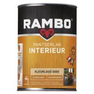 Rambo Pantserlak Interieur Transparant Zijdeglans - 750 ml