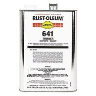 Rust-Oleum 641 - Verdunning
