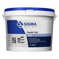 Sigma Facade Coat Matt - Lichte Kleuren