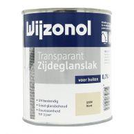 Wijzonol Transparant Zijdeglanslak 750 ml. - Standaard Kleuren