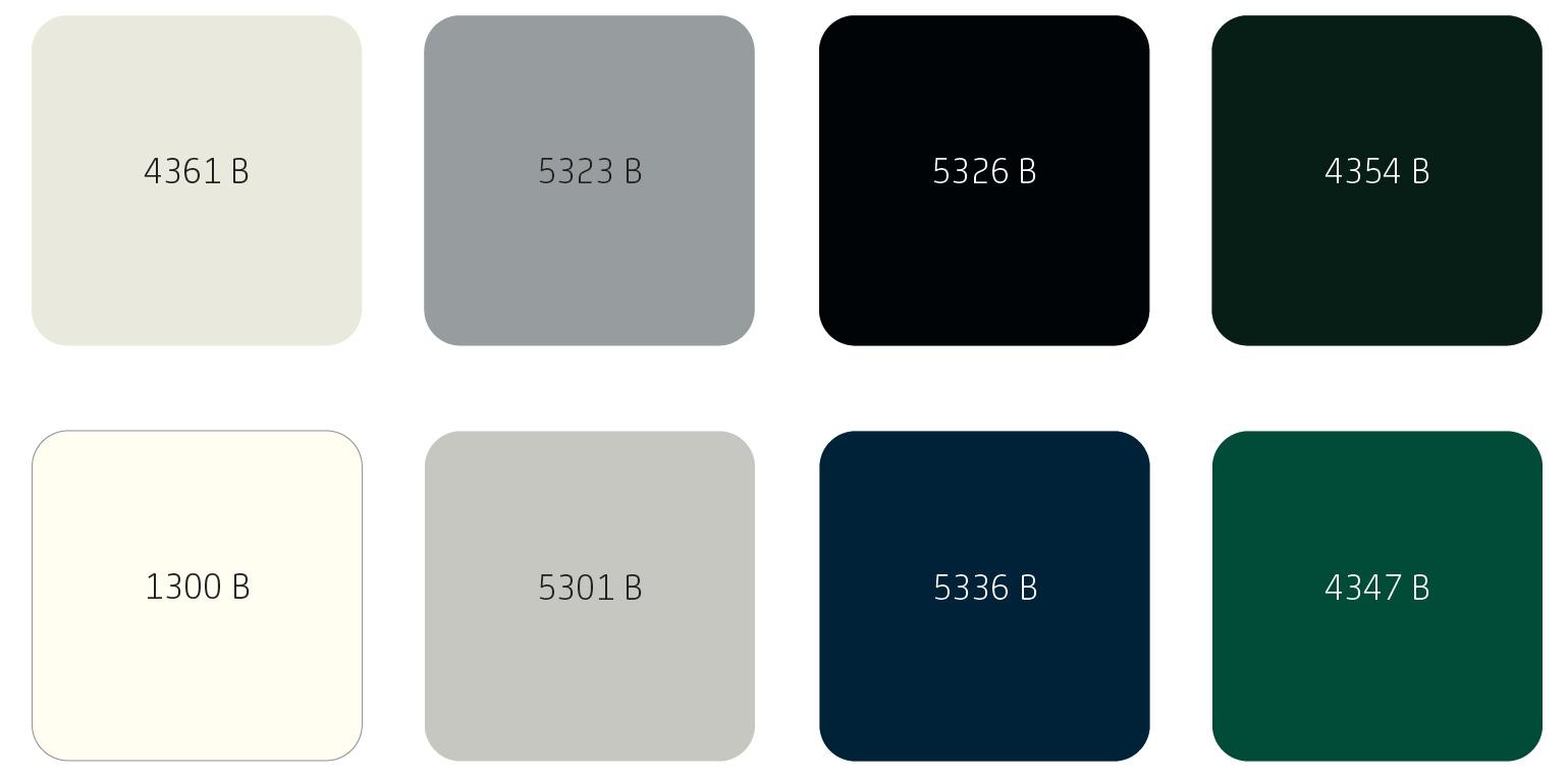 Populaire kleuren buitenhoutwerk Sigma